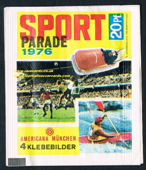 1976 Sport Parade packet Americana SEALED